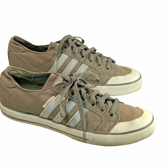 Adidas Vibetouch Mens Size 11 Sneakers Brown Shoes